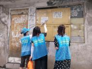 1091.营造整洁城市环境 清理小广告--碧水社区在行动