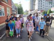 1103.河南小学小志愿者开展创建文明城活动