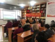 1122.河南卫生服务中心走进白菊社区开展冬季健康知识讲座